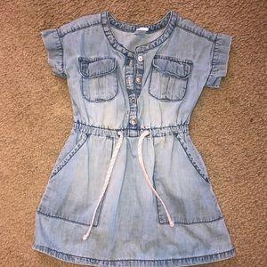 Carters 2T Denim Dress girls